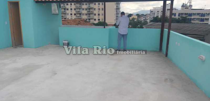 TERRAÇO 1. - Apartamento 2 quartos à venda Cascadura, Rio de Janeiro - R$ 230.000 - VAP20778 - 17