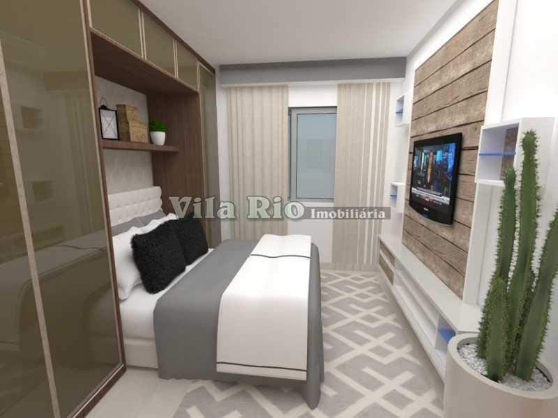 QUARTO 1. - Apartamento 2 quartos à venda Penha Circular, Rio de Janeiro - R$ 290.000 - VAP20779 - 6