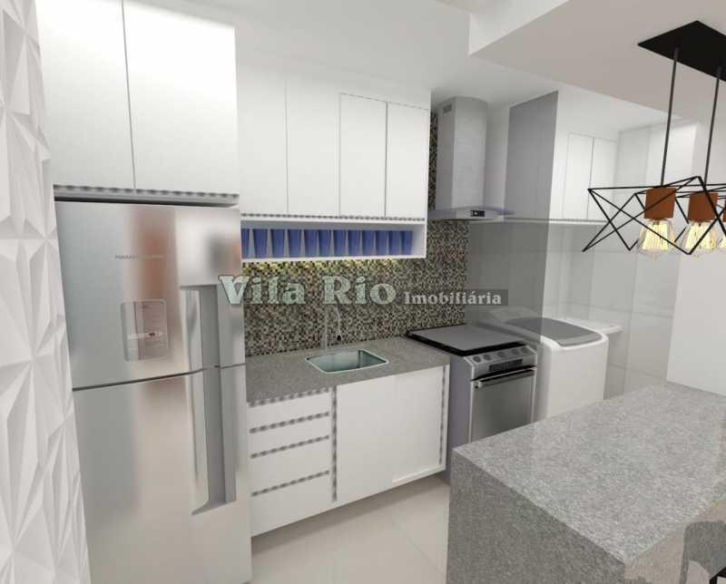 COZINHA. - Apartamento 2 quartos à venda Penha Circular, Rio de Janeiro - R$ 290.000 - VAP20779 - 9