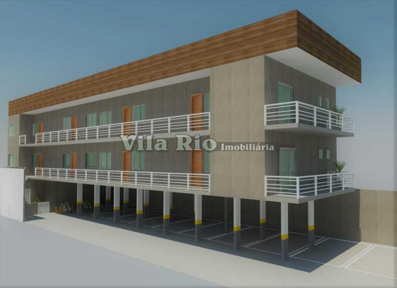 FRENTE. - Apartamento 2 quartos à venda Penha Circular, Rio de Janeiro - R$ 290.000 - VAP20779 - 1