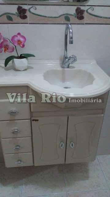 BANHEIRO 1. - Apartamento 1 quarto para alugar Vila da Penha, Rio de Janeiro - R$ 900 - VAP10071 - 6