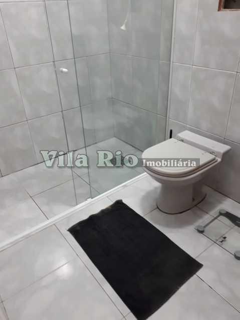 BANHEIRO 1. - Casa 4 quartos à venda Irajá, Rio de Janeiro - R$ 400.000 - VCA40041 - 13