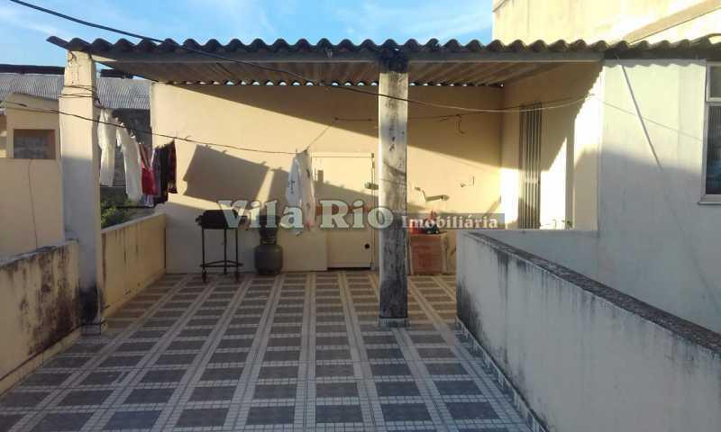 TERRAÇO 1. - Casa 4 quartos à venda Irajá, Rio de Janeiro - R$ 400.000 - VCA40041 - 27