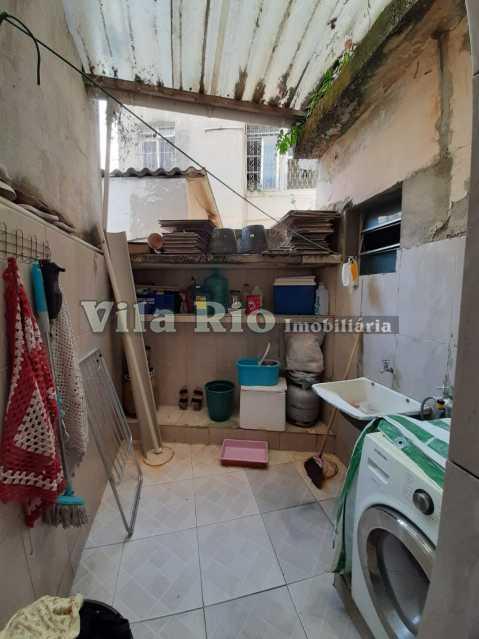 AREA DE SERVIÇO - Casa de Vila 4 quartos à venda Olaria, Rio de Janeiro - R$ 380.000 - VCV40002 - 16