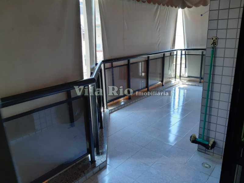 VARANDA. - Apartamento 3 quartos à venda Vista Alegre, Rio de Janeiro - R$ 650.000 - VAP30233 - 28