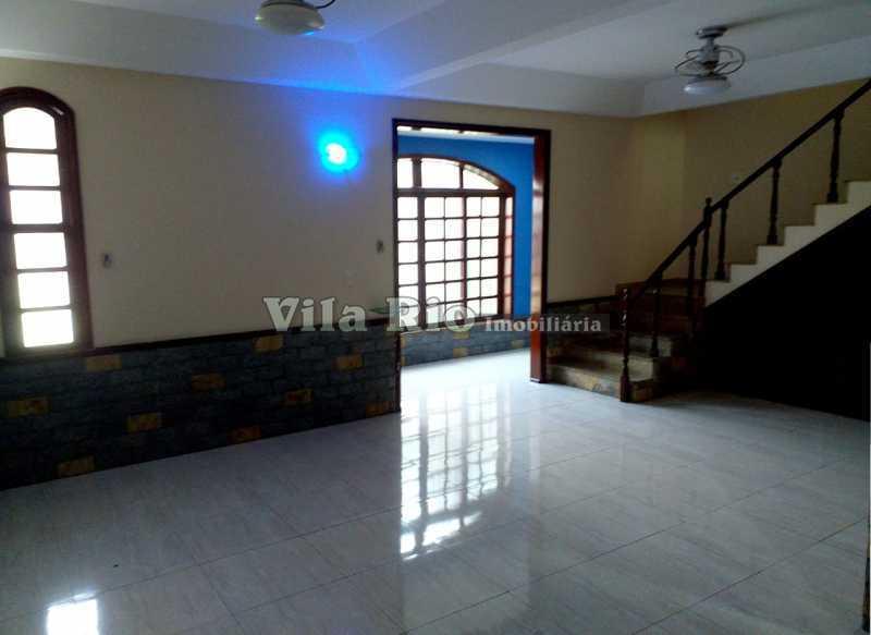 SALA 1. - Casa 7 quartos à venda Vista Alegre, Rio de Janeiro - R$ 1.300.000 - VCA70003 - 1