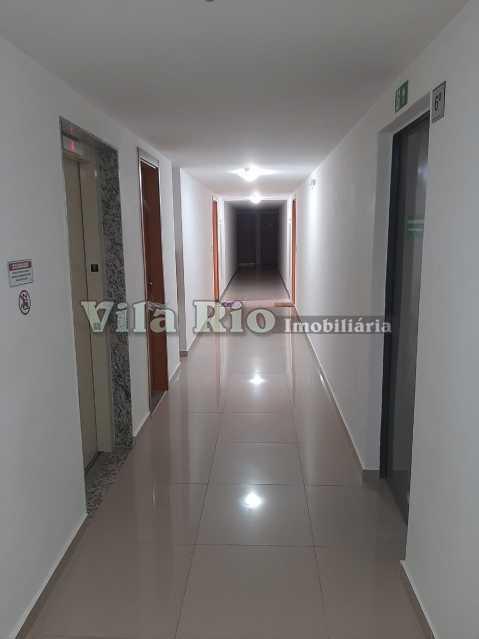CIRCULAÇÃO DO ANDAR DO APTO  - Apartamento 2 quartos à venda Colégio, Rio de Janeiro - R$ 240.000 - VAP20788 - 16