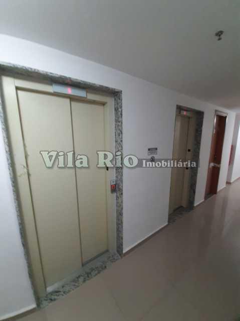 ELEVADORES NO ANDAR DO APTO - Apartamento 2 quartos à venda Colégio, Rio de Janeiro - R$ 240.000 - VAP20788 - 21