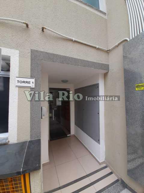 ENTRADA DO PREDIO - Apartamento 2 quartos à venda Colégio, Rio de Janeiro - R$ 240.000 - VAP20788 - 23