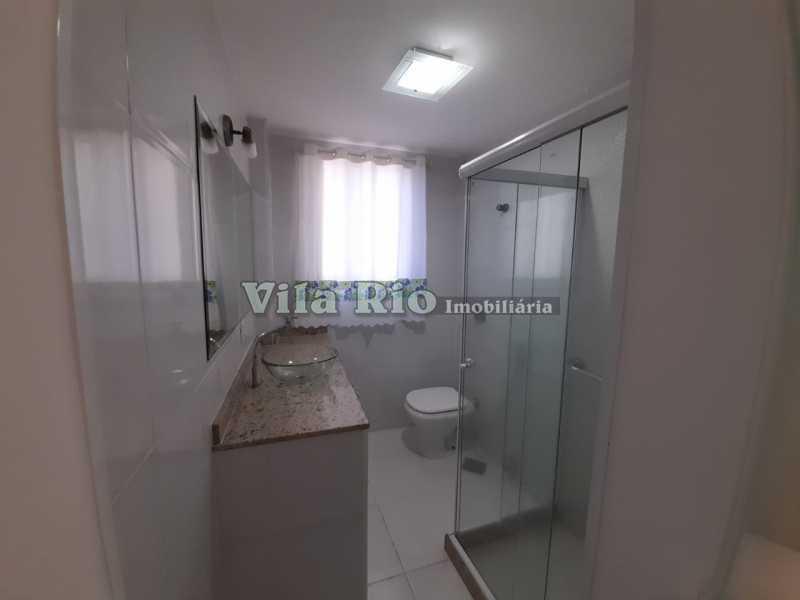 BANHEIRO 1. - Apartamento 2 quartos à venda Braz de Pina, Rio de Janeiro - R$ 295.000 - VAP20789 - 10