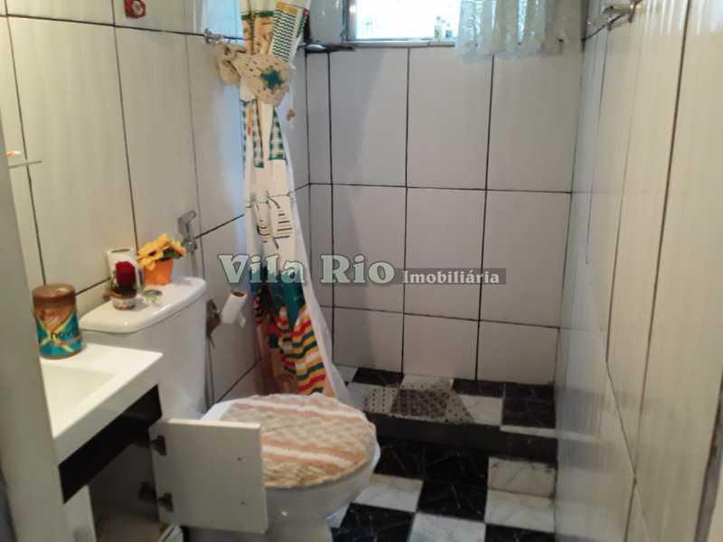 Banheiro. - Apartamento 1 quarto à venda Cordovil, Rio de Janeiro - R$ 120.000 - VAP10072 - 8