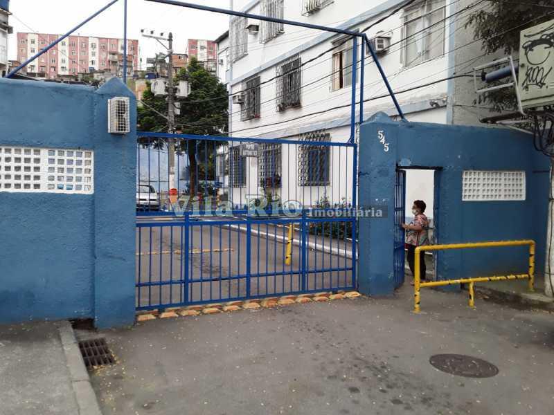 Entrada do condomínio. - Apartamento 1 quarto à venda Cordovil, Rio de Janeiro - R$ 120.000 - VAP10072 - 13