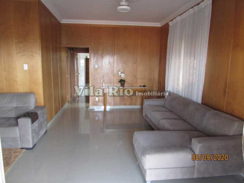 SALA 1. - Casa 3 quartos à venda Braz de Pina, Rio de Janeiro - R$ 615.000 - VCA30091 - 3