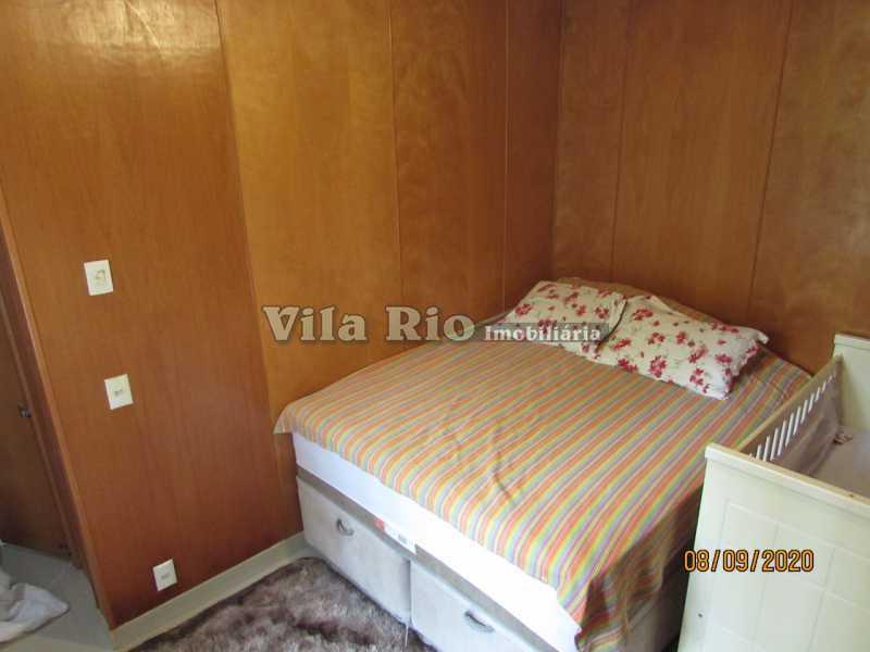 QUARTO 1 - Casa 3 quartos à venda Braz de Pina, Rio de Janeiro - R$ 615.000 - VCA30091 - 5