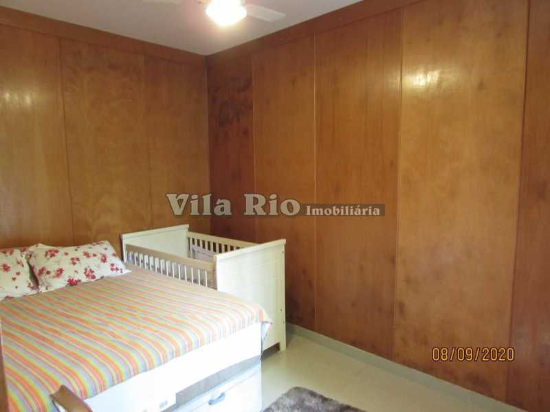 QUARTO 2 - Casa 3 quartos à venda Braz de Pina, Rio de Janeiro - R$ 615.000 - VCA30091 - 6