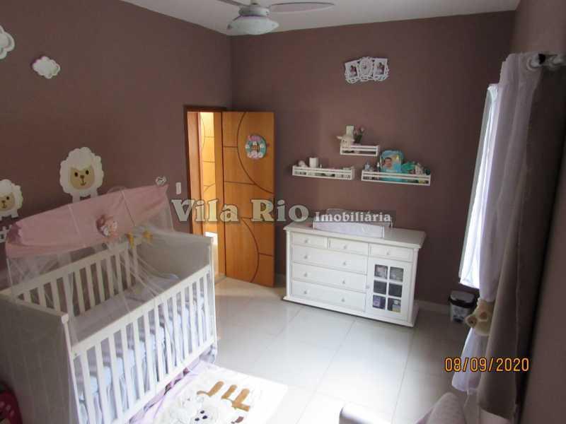 QUARTO 3 - Casa 3 quartos à venda Braz de Pina, Rio de Janeiro - R$ 615.000 - VCA30091 - 8