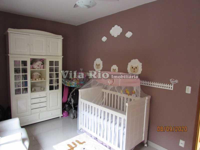 QUARTO 4 - Casa 3 quartos à venda Braz de Pina, Rio de Janeiro - R$ 615.000 - VCA30091 - 9