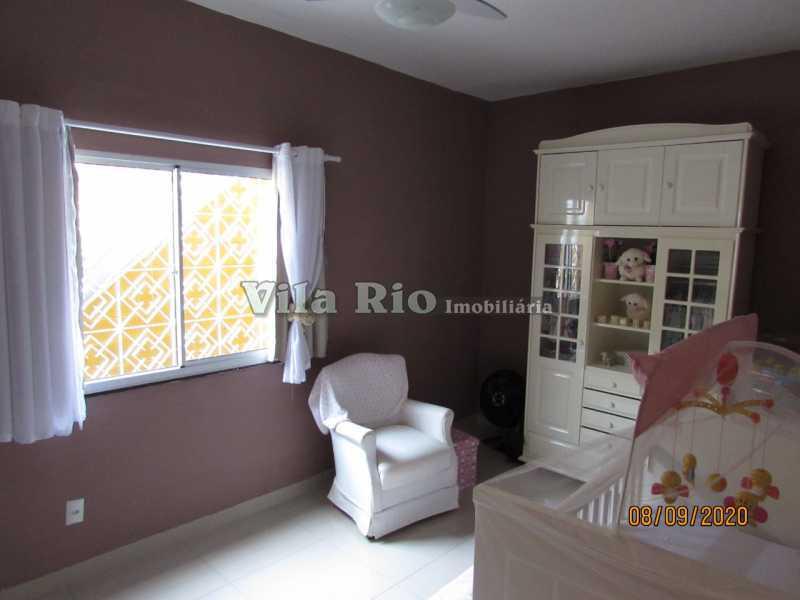 QUARTO 5 - Casa 3 quartos à venda Braz de Pina, Rio de Janeiro - R$ 615.000 - VCA30091 - 10