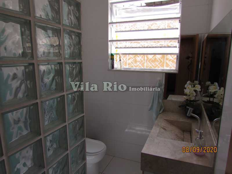BANHEIRO 3 - Casa 3 quartos à venda Braz de Pina, Rio de Janeiro - R$ 615.000 - VCA30091 - 11