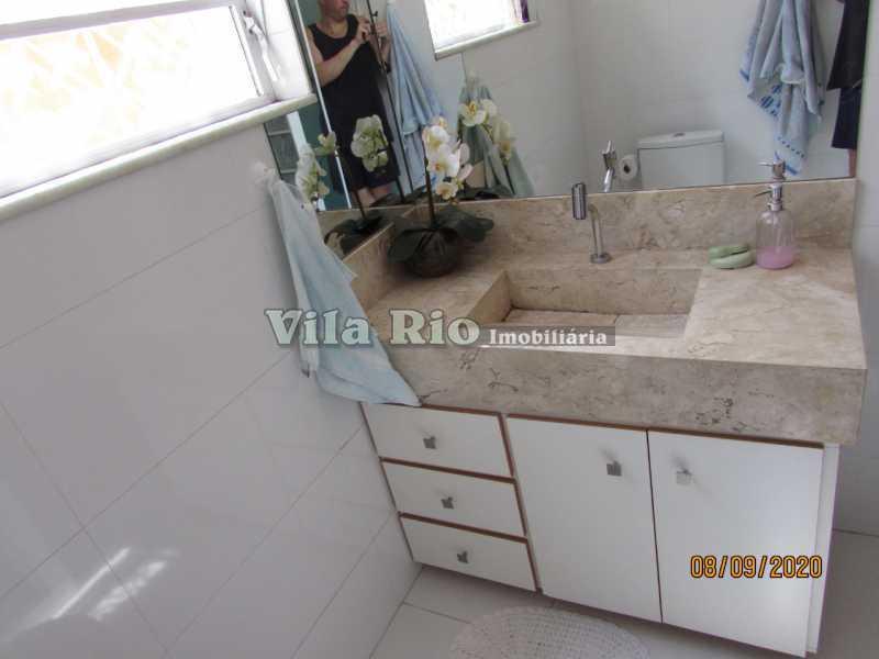 BANHEIRO 4 - Casa 3 quartos à venda Braz de Pina, Rio de Janeiro - R$ 615.000 - VCA30091 - 12