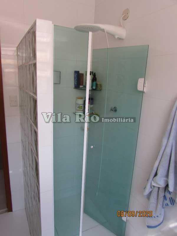BANHEIRO1 - Casa 3 quartos à venda Braz de Pina, Rio de Janeiro - R$ 615.000 - VCA30091 - 15