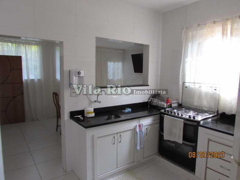 COZINHA 1 - Casa 3 quartos à venda Braz de Pina, Rio de Janeiro - R$ 615.000 - VCA30091 - 17