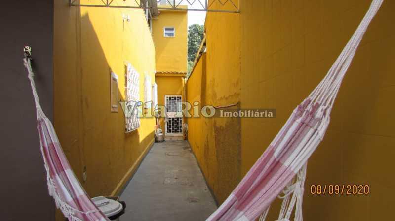 LATERAL 1 - Casa 3 quartos à venda Braz de Pina, Rio de Janeiro - R$ 615.000 - VCA30091 - 25