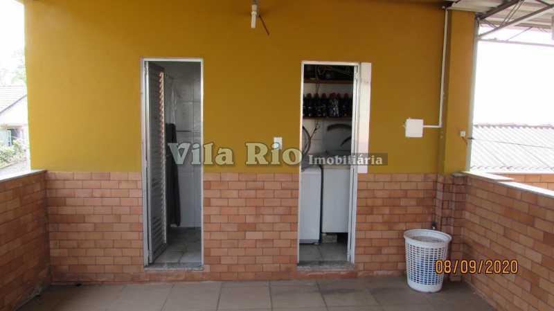 TERRAÇO 3 - Casa 3 quartos à venda Braz de Pina, Rio de Janeiro - R$ 615.000 - VCA30091 - 29