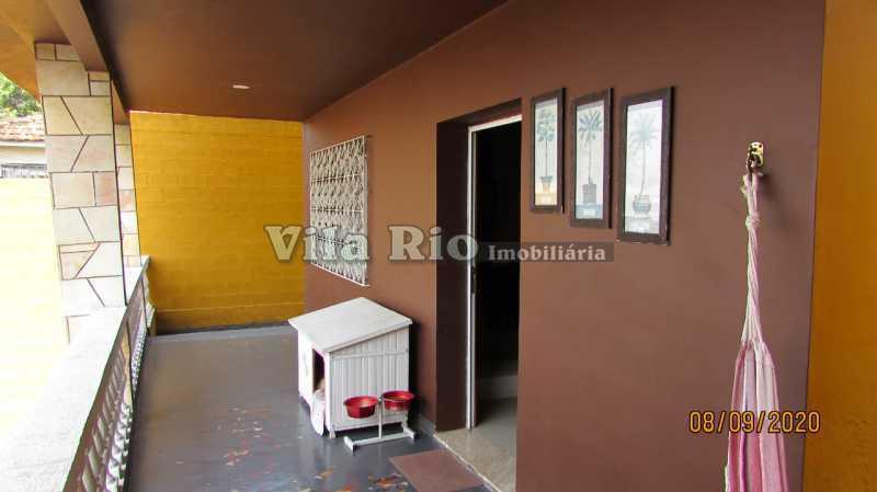 VARANDA 1 - Casa 3 quartos à venda Braz de Pina, Rio de Janeiro - R$ 615.000 - VCA30091 - 30