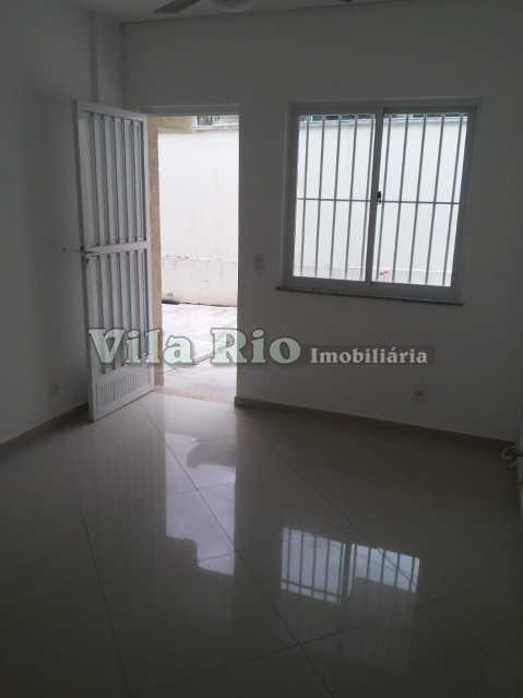 SALA 1. - Casa em Condomínio 2 quartos à venda Irajá, Rio de Janeiro - R$ 325.000 - VCN20040 - 1