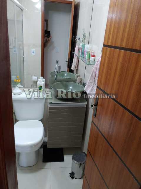 BANHEIRO 1 - Apartamento 2 quartos à venda Braz de Pina, Rio de Janeiro - R$ 295.000 - VAP20798 - 12