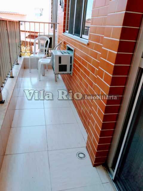 VARANDA 1 - Apartamento 2 quartos à venda Jardim Guanabara, Rio de Janeiro - R$ 450.000 - VAP20799 - 24