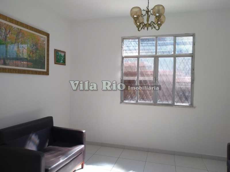 SALA 1 - Casa 3 quartos à venda Penha, Rio de Janeiro - R$ 550.000 - VCA30093 - 1