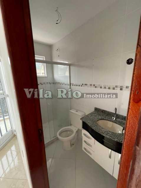 BANHEIRO 1. - Apartamento 2 quartos à venda Cascadura, Rio de Janeiro - R$ 185.000 - VAP20802 - 10