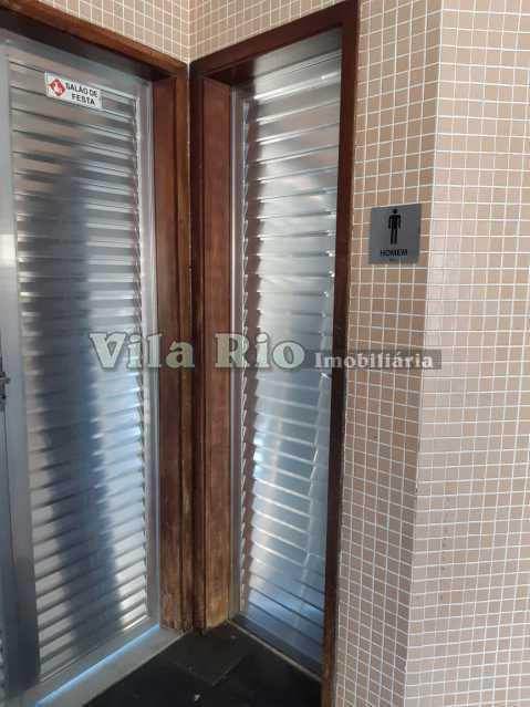 BANHEIRO SALÃO FESTAS. - Apartamento 2 quartos à venda Olaria, Rio de Janeiro - R$ 320.000 - VAP20803 - 22