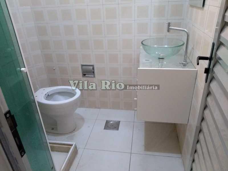 BANHEIRO 1. - Apartamento 2 quartos à venda Rocha Miranda, Rio de Janeiro - R$ 245.000 - VAP20806 - 6