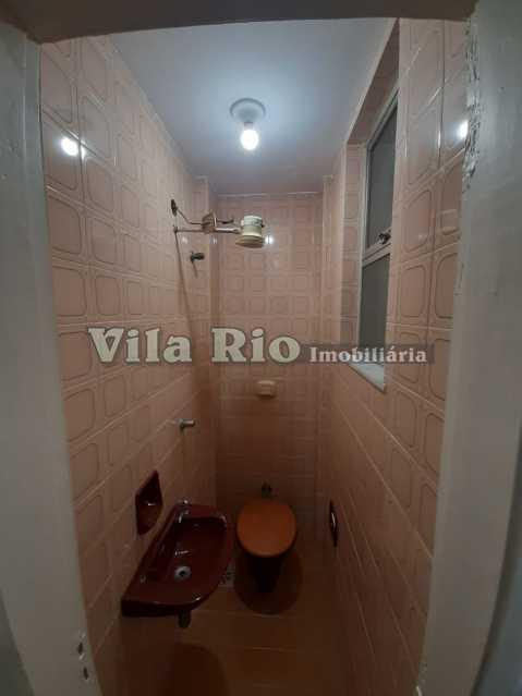BANHEIRO DEPENDENCIA - Apartamento 1 quarto à venda Vila da Penha, Rio de Janeiro - R$ 220.000 - VAP10074 - 7