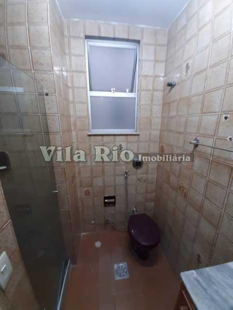 BANHEIRO SOCIAL - Apartamento 1 quarto à venda Vila da Penha, Rio de Janeiro - R$ 220.000 - VAP10074 - 10