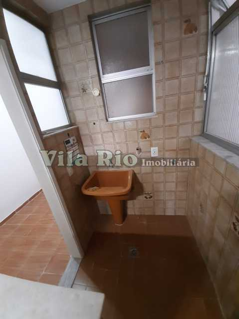 AREA DE SERVIÇO - Apartamento 1 quarto à venda Vila da Penha, Rio de Janeiro - R$ 220.000 - VAP10074 - 14