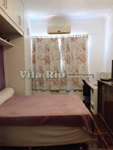 QUARTO. - Apartamento 2 quartos à venda Vaz Lobo, Rio de Janeiro - R$ 270.000 - VAP20814 - 4