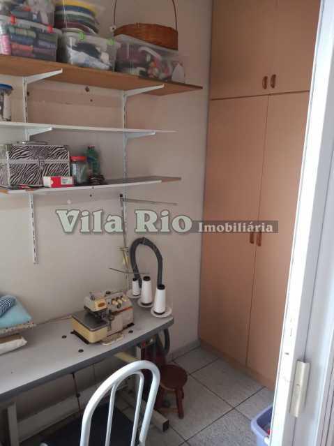 DEPENDÊNCIA. - Apartamento 2 quartos à venda Vaz Lobo, Rio de Janeiro - R$ 270.000 - VAP20814 - 6