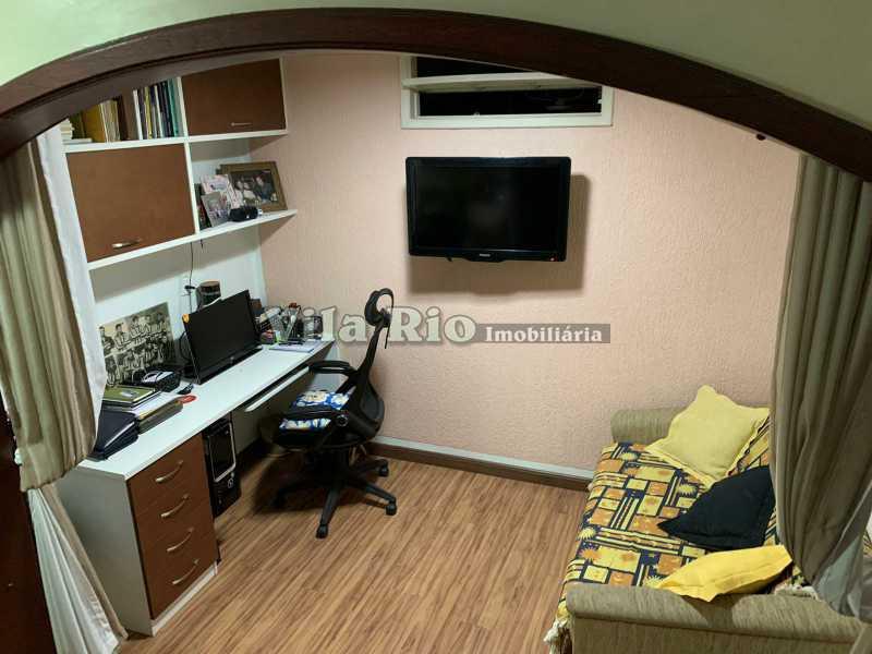 ESCRITÓRIO - Casa 3 quartos à venda Vista Alegre, Rio de Janeiro - R$ 780.000 - VCA30095 - 4