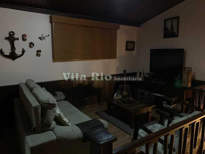 SALA DE TV - Casa 3 quartos à venda Vista Alegre, Rio de Janeiro - R$ 780.000 - VCA30095 - 6