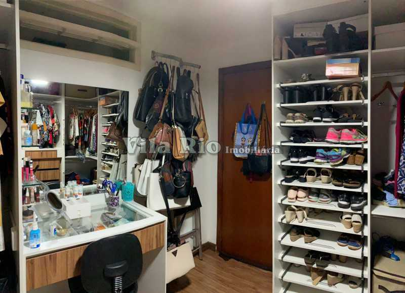 CLOSET - Casa 3 quartos à venda Vista Alegre, Rio de Janeiro - R$ 780.000 - VCA30095 - 10