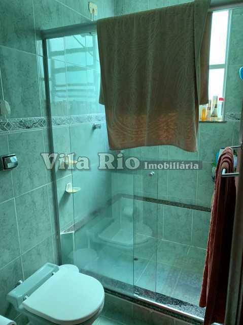BANHEIRO 1. - Casa 3 quartos à venda Vista Alegre, Rio de Janeiro - R$ 780.000 - VCA30095 - 17