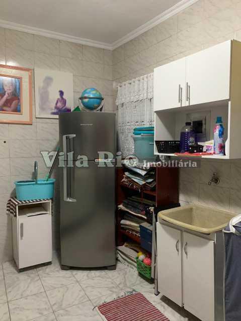 ÁREA E LAVANDERIA - Casa 3 quartos à venda Vista Alegre, Rio de Janeiro - R$ 780.000 - VCA30095 - 23