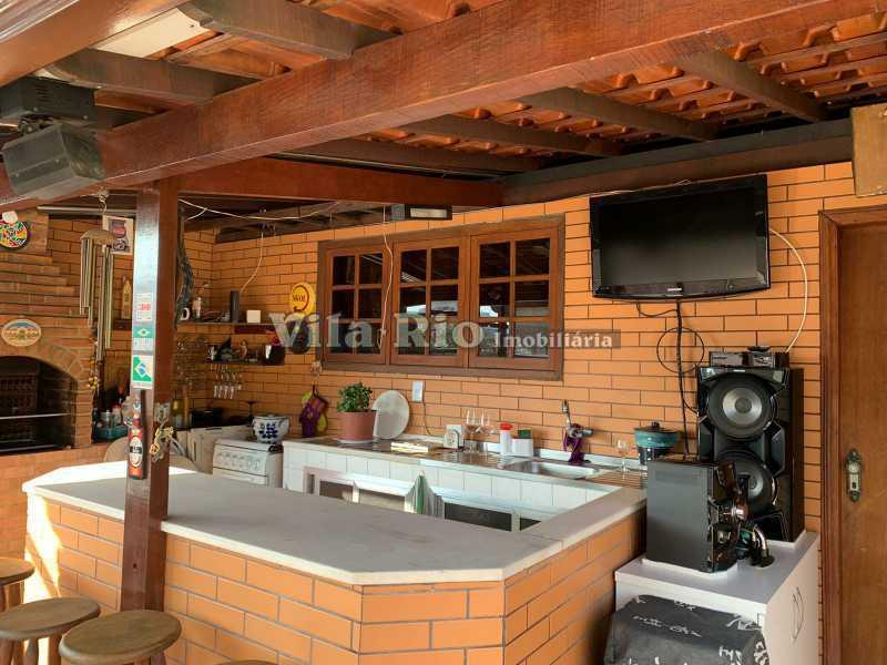 TERRAÇO 1. - Casa 3 quartos à venda Vista Alegre, Rio de Janeiro - R$ 780.000 - VCA30095 - 26