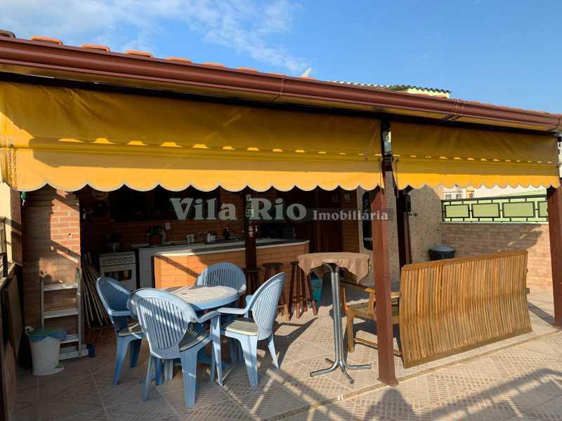 TERRAÇO 2. - Casa 3 quartos à venda Vista Alegre, Rio de Janeiro - R$ 780.000 - VCA30095 - 27