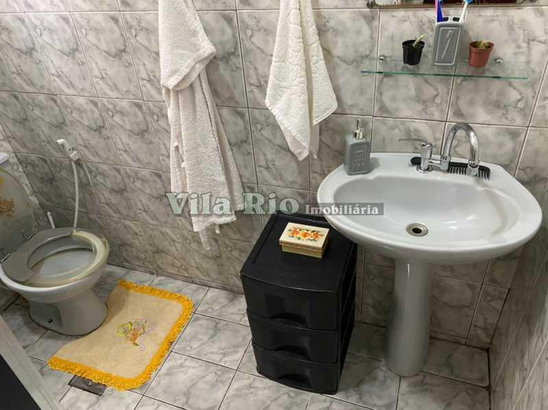 BANHEIRO 1 - Apartamento 2 quartos à venda Braz de Pina, Rio de Janeiro - R$ 165.000 - VAP20818 - 8