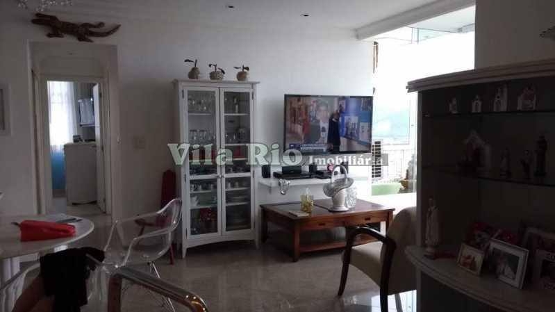 1° SALA 2 - Cobertura 2 quartos à venda Barra da Tijuca, Rio de Janeiro - R$ 2.000.000 - VCO20012 - 3